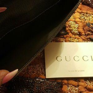 Gucci Bags - 🎨 Gucci Crystal Metal stud GG wallet